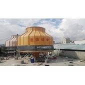 江苏苏州圆形玻璃钢冷却塔改造