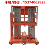 深圳双人10米升降高度铝合金升降机多少钱一台