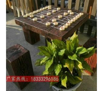 水泥仿木桌子 仿木凳子 庭院园林装饰仿木树桩椅子凳子桌子仿木