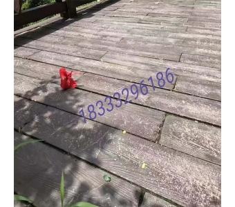园林景观踏步仿树皮仿木纹铺板混凝土grc仿木纹地板木地板