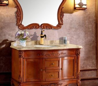1002橡木浴室柜