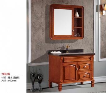7002B橡木浴室柜