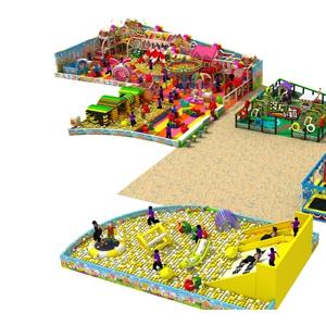 淘气堡儿童乐园室内设施大型游乐场设备百万海洋球厂家直销